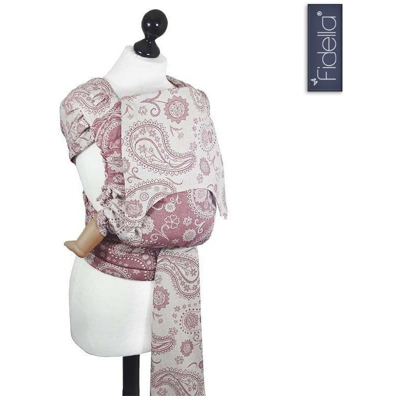 Fidella Fly Tai - MeiTai babycarrier Persian Paisley scarlet (New Size from 3 months) - Mei Tai - Fidella - Carry Them Close
