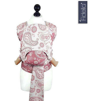Fidella Fly Tai - MeiTai babycarrier Persian Paisley scarlet (New Size from 3 months) - Meh Dai - Fidella - Afterpay - Zippay Carry Them Close