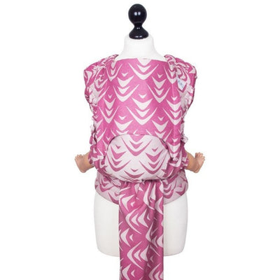 Fidella Fly Tai - MeiTai babycarrier Limited Edition - Zen Fuchsia Soy (New Size) - Meh Dai - Fidella - Afterpay - Zippay Carry Them Close