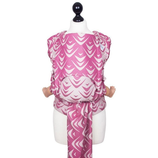 Fidella Fly Tai - MeiTai babycarrier Limited Edition - Zen Fuchsia Soy (New Size), , Mei Tai, Fidella, Carry Them Close  - 1