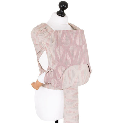 Fidella Fly Tai - MeiTai babycarrier Drops Pinkish Sand (New Size - 3months +)