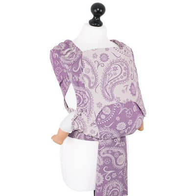 Fidella Fly Tai - MeiTai babycarrier Persian Paisley - Orchid (New Size - 3 months +) - Meh Dai - Fidella - Afterpay - Zippay Carry Them Close