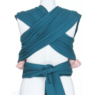 Moby Wrap - Pacific (mid/lighter weight), , Stretchy Wrap, Moby, Carry Them Close  - 2
