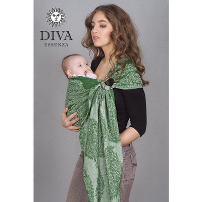 Diva Milano - Diva Essenza Ring Sling - Pino - Ring Sling - Diva Milano - Afterpay - Zippay Carry Them Close