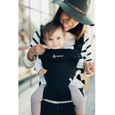 Ergobaby 360 Carrier - Pure Black, , Baby Carrier, Ergobaby, Carry Them Close  - 1