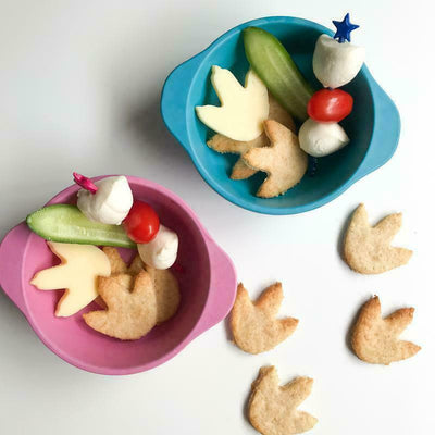 Lunch Punch Sandwich Cutters Pair - Dinosaurs
