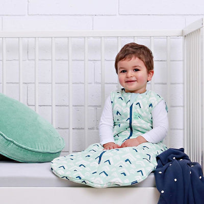 ErgoPouch - Cotton Sleeping Bag - Winter (2.5TOG) - Mountains - Baby Sleeping Bags - ErgoCocoon - Afterpay - Zippay Carry Them Close