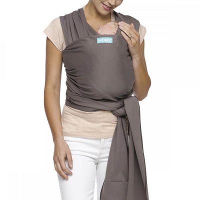 Moby Wrap - Slate (mid/lighter weight) - Stretchy Wrap - Moby - Afterpay - Zippay Carry Them Close