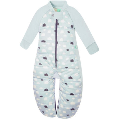 ErgoPouch - Sleep Suit Bag Winter (2.5TOG) - Mint Clouds - Baby Sleeping Bags - ErgoCocoon - Afterpay - Zippay Carry Them Close