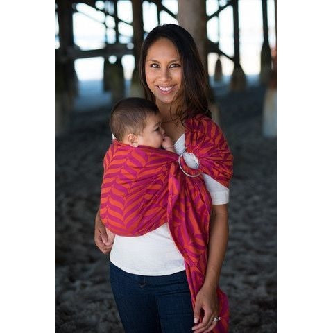 Tula Ring Sling - Mockingbird Sorbet - Wrap Conversion, , Ring Sling, Tula, Carry Them Close  - 1