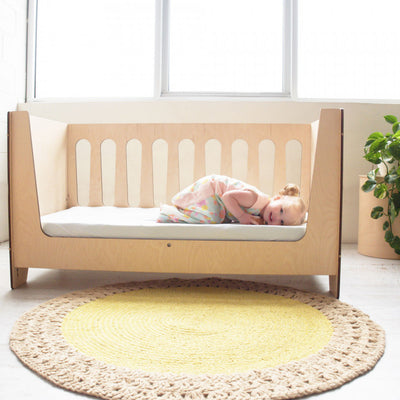 ErgoPouch - Bamboo Stretch Cot Sheet & Single Bed (2 in 1) - Natural