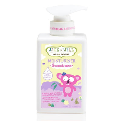 Jack n' Jill - Sweetness Moisturiser, Natural Bath Time