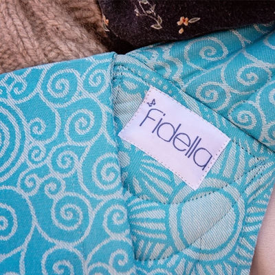 Fidella Fly Tai - MeiTai babycarrier Limited Edition - Masala Scuba Blue (Toddler Size) - Meh Dai - Fidella - Afterpay - Zippay Carry Them Close