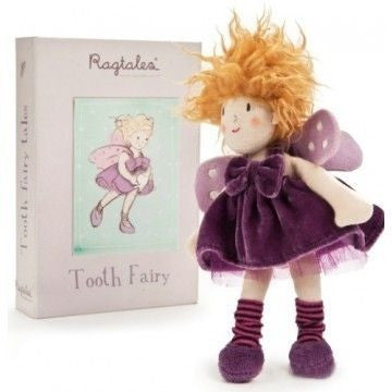 Ragtales - Ragtag Tooth Fairy Girl, , Toys, Ragtales, Carry Them Close  - 1