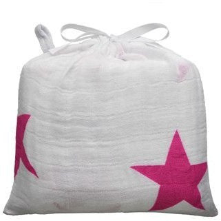 Aden and Anais - Swaddle Blanket - Twinkle Pink - swaddle - Aden and Anais - Afterpay - Zippay Carry Them Close