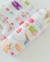Little Unicorn - Cotton Muslin Baby Swaddle - Brain Freeze
