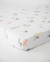 Little Unicorn - Cotton Muslin Cot Sheet - Oh Deer