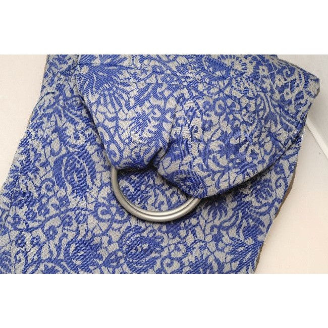 Diva Milano - Diva Milano Ring Sling Veneziano - Azzurro - Ring Sling - Diva Milano - Carry Them Close