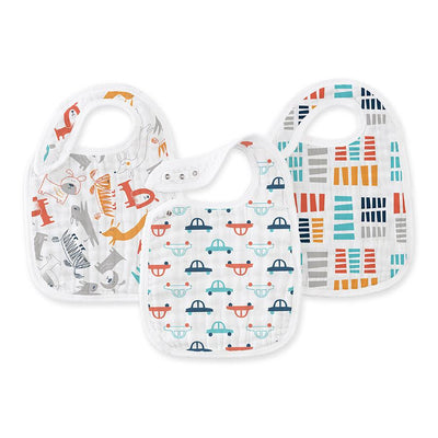 Aden and Anais - Snap Bib 3 Set - Pup in Tow