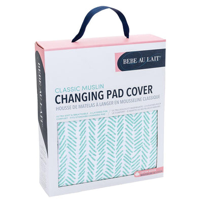 Bebe Au Lait - Changing Pad Cover - Zig-Zag