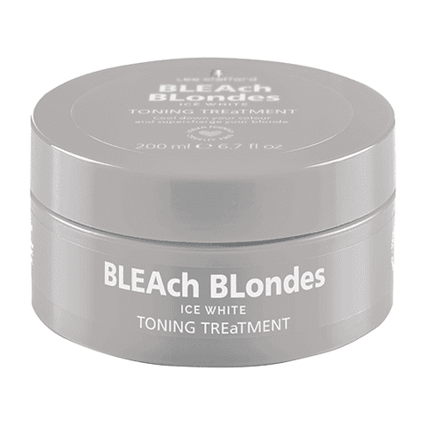 Lee Stafford Bleach Blondes Ice White Toning Treatment