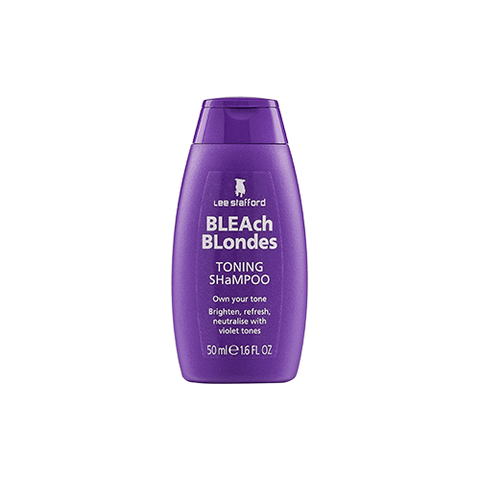 Lee Stafford Bleach Blondes Purple Reign Toning Shampoo Mini