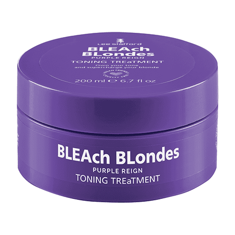 Lee Stafford Bleach Blondes Purple Reign Toning Treatment