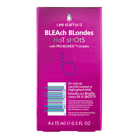 Lee Stafford Bleach Blondes Purple Reign Hot Shots