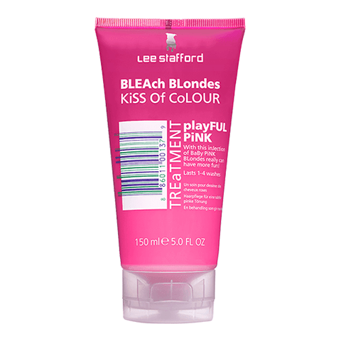 Lee Stafford Bleach Blondes Everyday Care Kiss of Colour Playful Pink Treatment