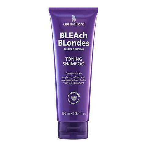 Lee Stafford Bleach Blondes Purple Reign Toning Shampoo