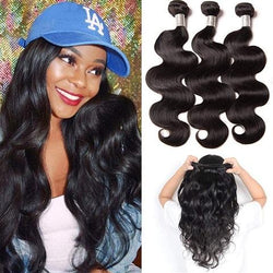 Brazilian Body Wave Human Hair Bundles 100% Human