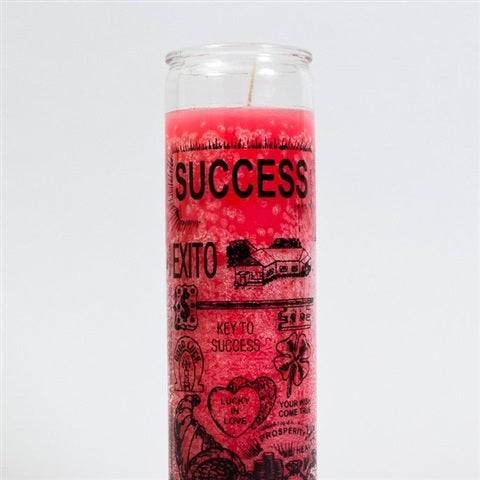 Success Candle + oil + incense