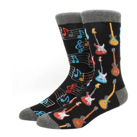chaussettes guitare