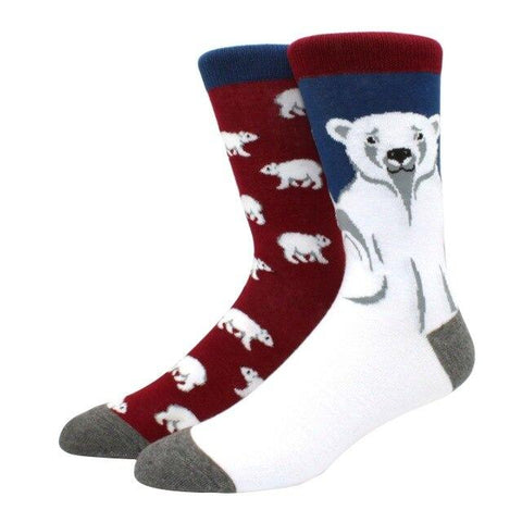 chaussette ours polaire