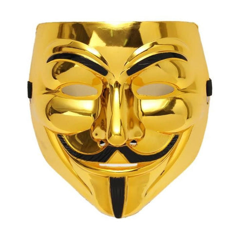 masque de hacker d'halloween