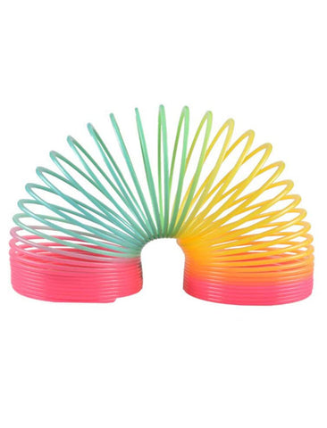 slinky toy en metal humoristique