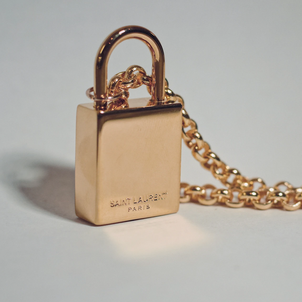 YSL Large Gold Lock