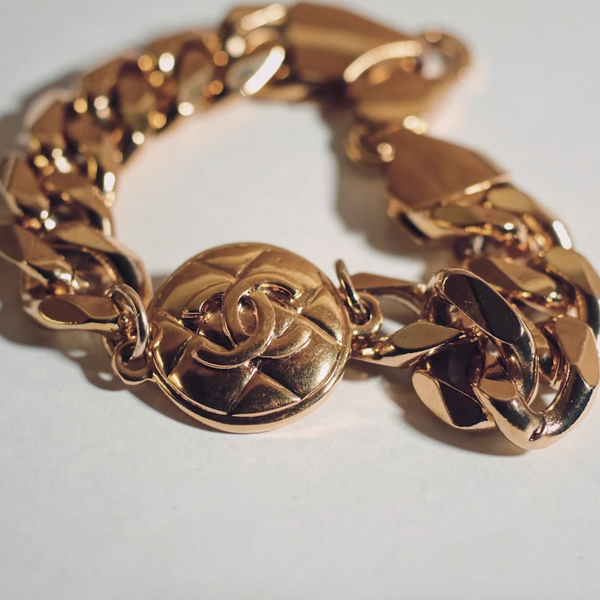 Chanel Quilted Bracelet