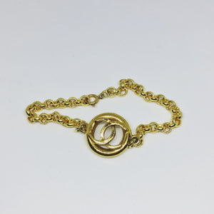 Chanel Gold Circle Pop Bracelet