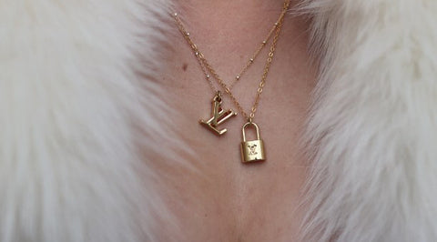 Louis Vuitton Mini LV Necklace