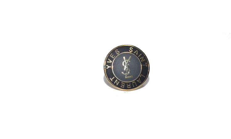 YSL Logo Ring Large