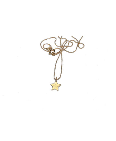 Gucci Gold Mini Star Pendant Necklace