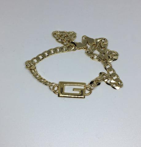 Gucci G Mini Logo Necklace