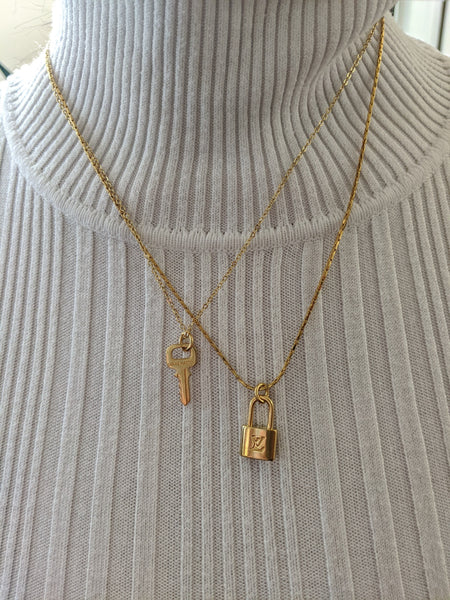Louis Vuitton Mini Key Necklace