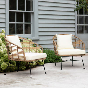 Outdoor Sessel-Set BAMBOO (4584095088771)