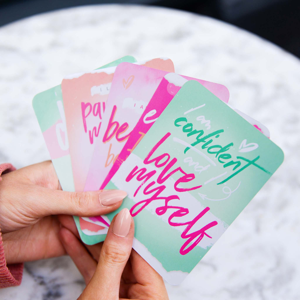 Positive Vibes Self-care Cards