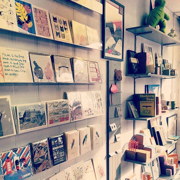 Our top 23 independent design stores in london alfred wilde snap store bow based shop with wonderfully huge contemporary greeting card selection gifts and prints m4hsunfo