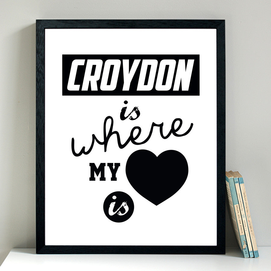 Croydon Is Where My Heart Is - Alfred & Wilde