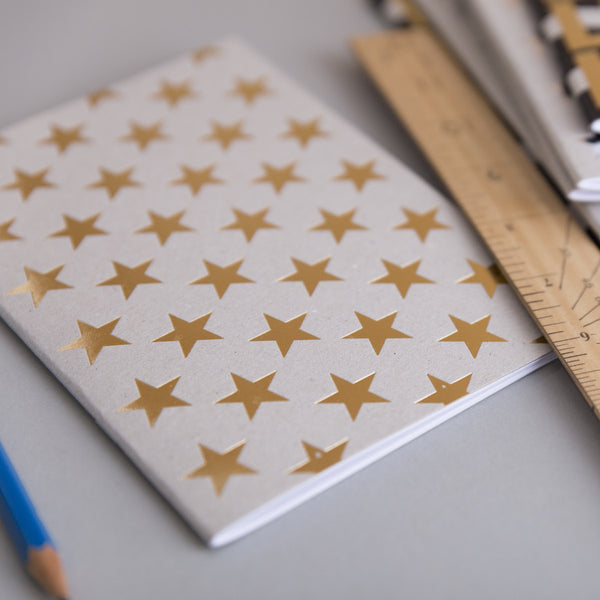 Gold Stars notebook