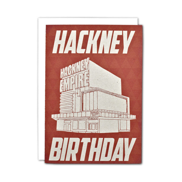 Hackney Birthday card